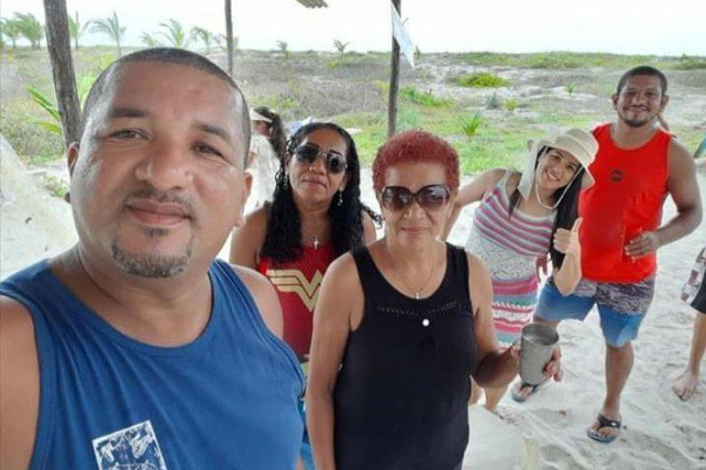 Foto do Raimundo com a família