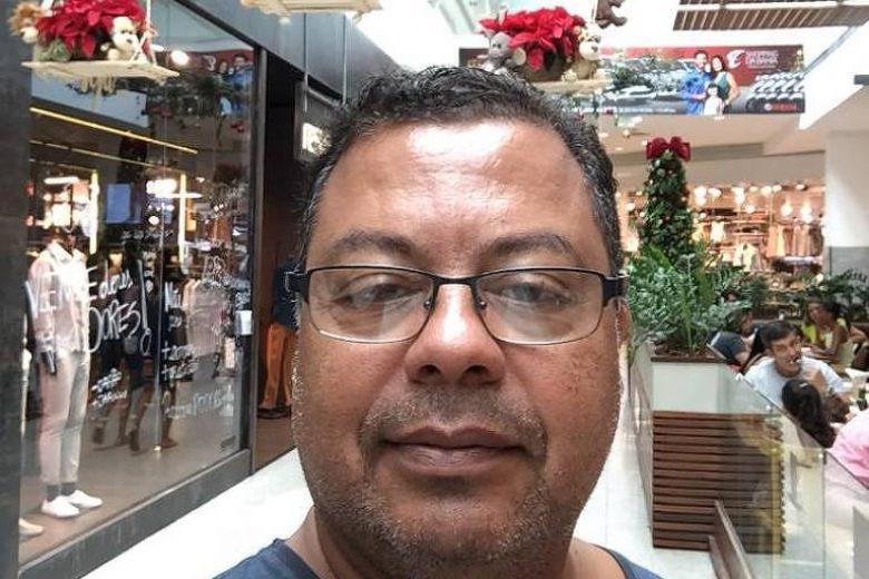 O médico Gilmar Calasans Lima, que morreu em decorrência do coronavírus - Reprodução